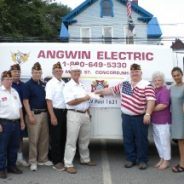 VF NH Helps VFW Post Officers to National Home